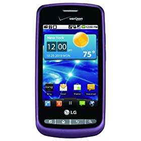LG Vortex Android Phone, Purple (Verizon Wireless)