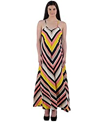 Beyond Origins Women's Dress (LD001_Multicolor_Medium)