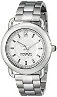 Sperry Top-Sider Women's 10014926 Hayden Analog Display Japanese Quartz Silver Watch from Sperry Top-Sider Watches MFG Code