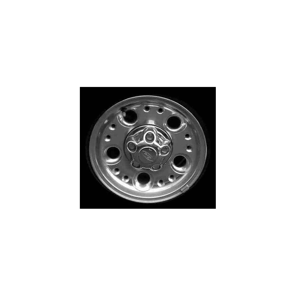 98 99 FORD RANGER ALLOY WHEEL RIM 14 INCH TRUCK, Diameter 14, Width 6 (5 LARGE HOLES/10 SMALL HOLES), BRIGHT POLISH, 1 Piece Only, Remanufactured (1998 98 1999 99) ALY03292U80