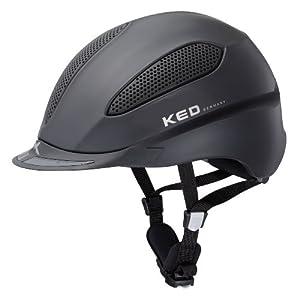KED Helm Paso - Casco de hípica, color negro, talla M
