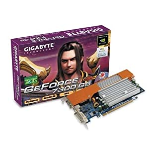 Gigabyte GV-NX73G128D-RH NVIDIA GeForce 7300 GS 128MB PCI-E DVI-I Graphics Card