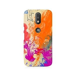 TAZindia Designer Printed Hard Back Case Cover For Moto G4