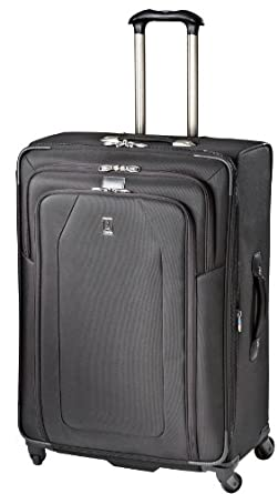 Travelpro Luggage Crew 9 29-Inch Expandable Suiter Spinner Bag, Black, One Size