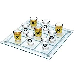 Exciting Lives Tic Tac Toe Shot Glasses, 9-Pieces
