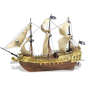 Silverlit Flying Dutchman Pirate Ship Electric RC Boat