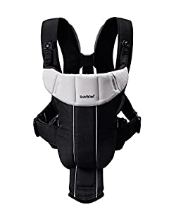 Active Baby Carrier in Black / Silver