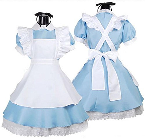 Alice in Wonderland cosplay maid set (japan import)