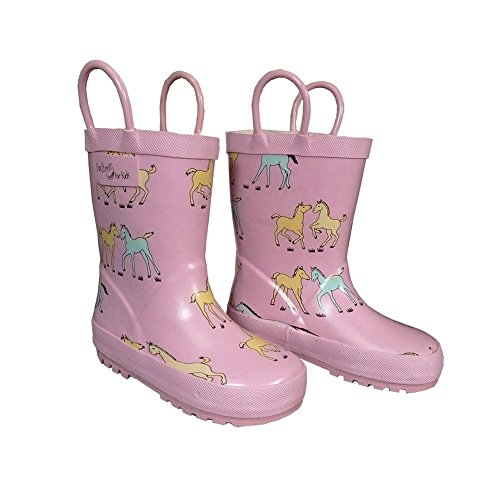Toddler Girls Pink Boots