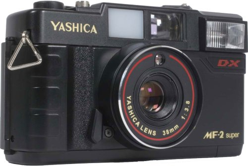 YASHICA フィルムカメラ MF-2 Super YASHICA製レンズ搭載 35mmフィルム