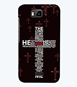 printtech Multi Color Cross Back Case Cover for Huawei Honor Bee::Huawei Y 5C