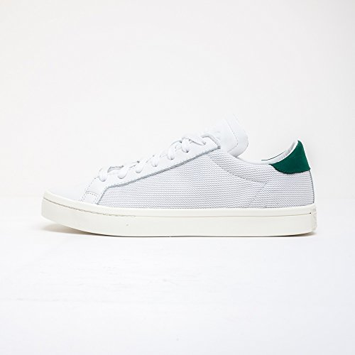 ADIDAS ORIGINALS S78762 COURTVANTAGE VINTAGE WHITE GREEN EU 38