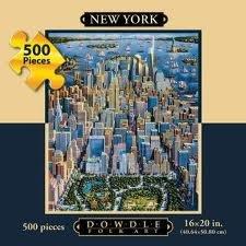 Dowdle Folk Art 500 Piece Puzzle New York - 1