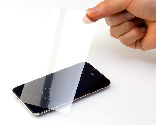Micro Solution Pro Guard Af (Anti-Fingerprint) Clear And Glossy Protection Film For Ipod Touch 4G (4Th Generation)