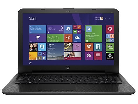 "HP 250 G4 Portatile,15.6"" HD, Intel Core i3-5005U, RAM 4 GB,  500 GB HDD, Intel HD Graphics, Windows 10, Nero"
