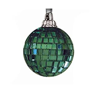 Mr. Light 55363-P Mirror Balls, Pack of 100, Green, 3-Inch Each