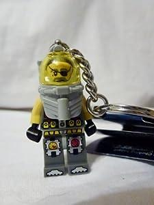 LEGO Atlantis Captain Ace Speedman Diver Keychain