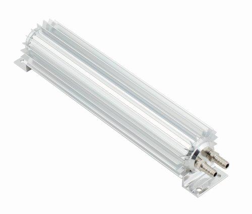 Mr. Gasket 7365G Satin Aluminum Dual Pass Transmission Cooler