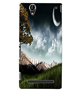 ColourCraft Beautiful scenery Design Back Case Cover for SONY XPERIA T2 ULTRA DUAL D5322