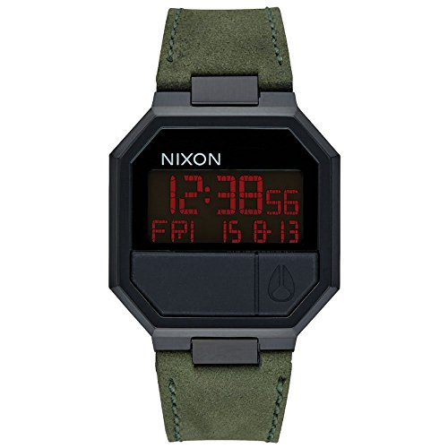 Pelle quarzo digitale Nixon Unisex-Guarda A944032