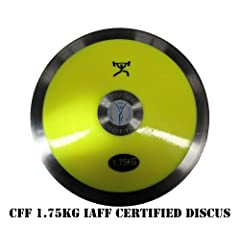 Buy CFF Youth's 1.75 kg Discus IAAF Certified Competition Discus by CFF-FIT