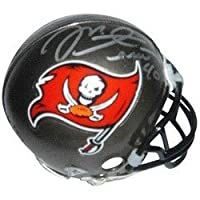 Mike Alstott Signed Autograph Tampa Bay Buccaneers Mini Helmet Authentic Certified Coa