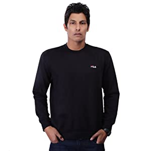 Fila Men Sweatshirts FW 1 BST 0006 Black