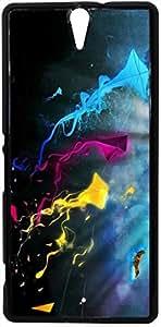 FCS Printed 2D Designer Hard Back Case For Sony Xperia C5 Design-20528