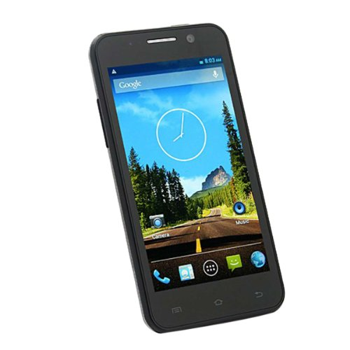 ThL W100 Smartphone MTK6589 Quad Core Android 4.2 1G RAM 4.5 Inch IPS Screen Grey Black Friday & Cyber Monday 2014