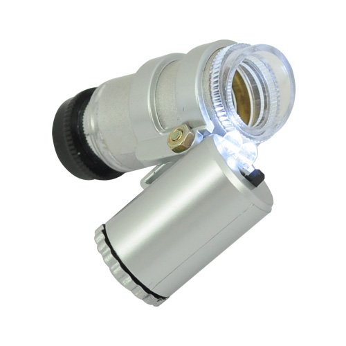 Gangnam Shop Mini Microscope With 45X Magnifier And Led Light