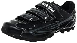 Pearl iZUMi Men\'s All Road II Cycling Shoe,Black/Silver,45 EU/11 D US