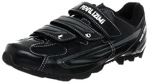 Pearl iZUMi Men's All Road II Cycling Shoe,Black/Silver,47 EU/12.5 D US