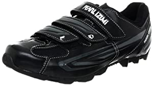 Pearl iZUMi Men's All Road II Cycling Shoe,Black/Silver,45.5 EU/11 D US