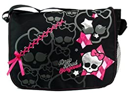 Monster High Full Size Messenger Bag -Monster High School Bag