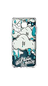 Acid Rain Of Pain Stylish Mobile Case/Cover For Samsung Galaxy J5 2D Transparent