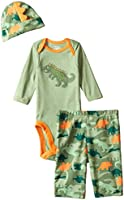 Gerber Baby Boys' Three-Piece Bodysuit, Cap, and Pant Set