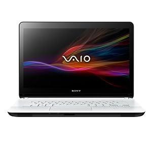 "Sony Vaio SVF-1521A6EW Ordinateur Portable 15.5"" (39.5cm) Intel Pentium 2117U 1,80 GHz 500 Go 4 Go Nvidia GeForce Windows 8 Wi-Fi Blanc"