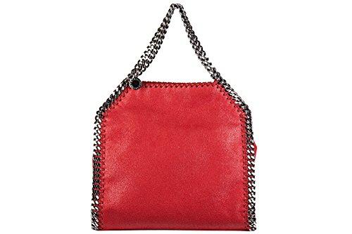 Stella Mccartney borsa donna a mano shopping nuova originale falabella mini shag