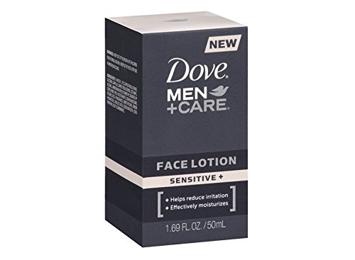 Dove Men+Care Sensitive + Face Lotion 1.69 FL.Oz.