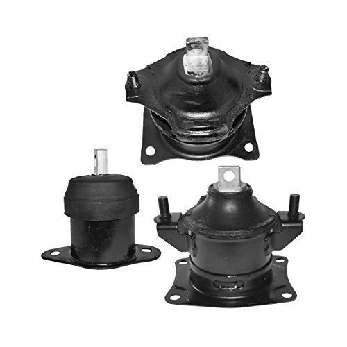 Acura TL Engine Mounts 3.2L Front Right Rear (Set of 3) (Acura Tl Engine Parts compare prices)