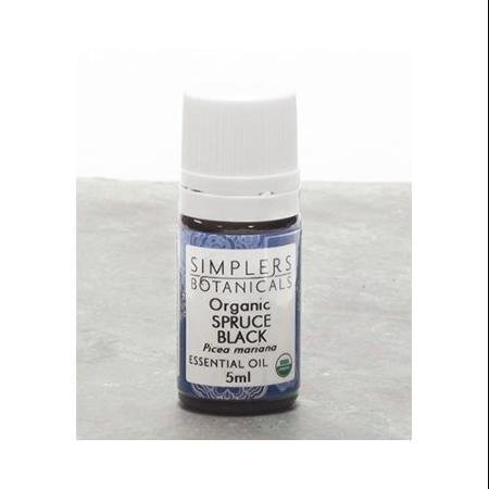 Essential Oil Spruce Black Organic Simplers Botanicals 5 ml Liquid WLM