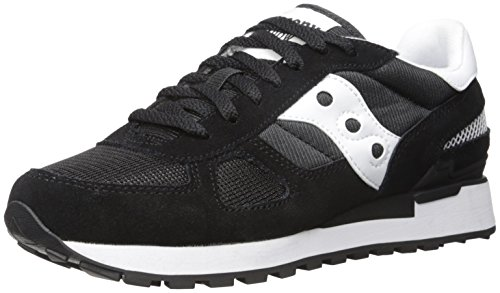 Saucony Shadow Original, Sneaker a Collo Basso Donna, Nero, 40 EU