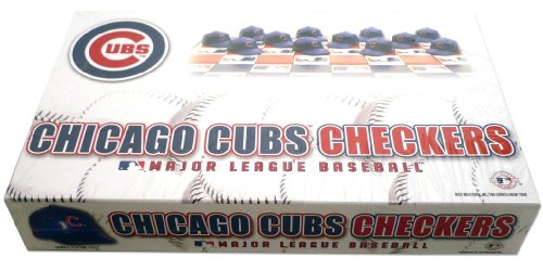 Chicago Cubs MLB Checker Set at Amazon.com