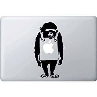 MacBook 対応 アートステッカー☆ - The Placard Chimp - 【並行輸入品】