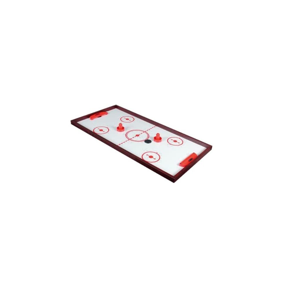 GTI 2 In 1 Slide Hockey and Ping pong Table Top Game Center