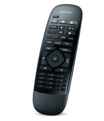 Logitech Harmony Smart Control With Smartphone App And Simple Remote - Black (915-000194)