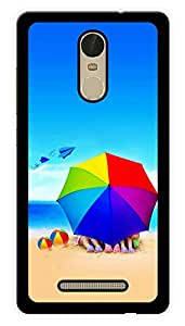 "Humor Gang Kids Beach Life Printed Designer Mobile Back Cover For ""Xiaomi Redmi Note 3"" (3D, Glossy, Premium Quality Snap On Case)"