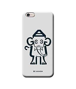Be Awara Chota Haati Designer Mobile Phone Case Back Cover For Apple iPhone 6