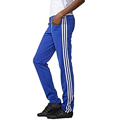 Adidas Originals Women's Slim Supergirl Track Pants-Royal/White