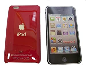 Apple iPod Touch 8GB 32GB 64GB 2nd/3rd Generation Red Hard Case